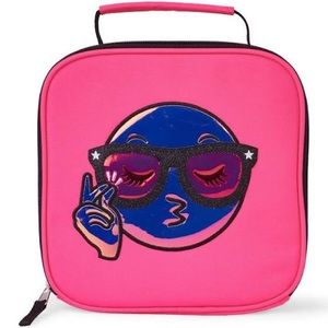 The Children's Place Pink Emoji Lunch Bag